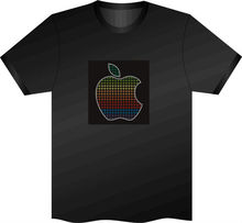 1000 Designs EL panel T shirt/LED T SHIRT led sound activated t shirts