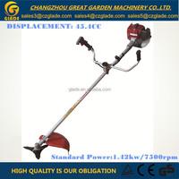 Bike-Type Straight Shaft Gasoline Grass Trimmer Garden Tools 45.4cc Brush Cutter Engine