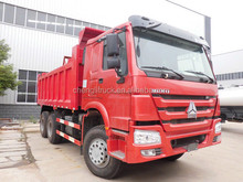 China brand Sinotruk HOWO dump truck 6*4 251-350hp tipper truck used truck hot sale for Africa