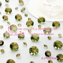 Acrylic Crystals Diamond Confetti Table Scatters Wedding Party Decoration