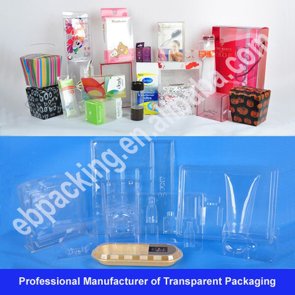 salable clear champagne glass gift box