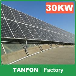 5KW 6KW 8KW 10KW solar system solar panel manufacturer in China solar electric system / 20KW best price per watt solar panels