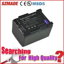 Crazy low price factory direct supply camcorder accessories for canon battery BP-819