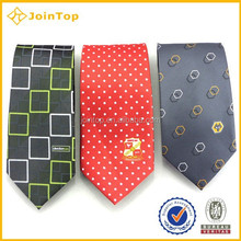 Fabric Wholesale 100% Silk Red Tie For Men