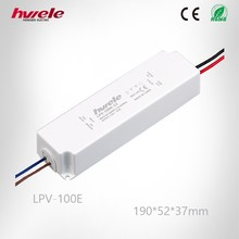 LPV-100E LED 12v invert constant voltage waterproof switching mode power supply high efficiency 3 years warranty