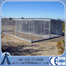 Large outdoor dog kennel /iron fence dog kennel/dog kennel fence panel
