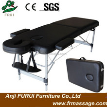 portable aluminum massage table massage bed