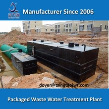 Hot selling sanitary package wastewater treatment facility