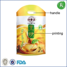 Hot sales thank you t-shirt handle carrier plastic bags for US supermarket, grocery t-shirt bags with thank you printing