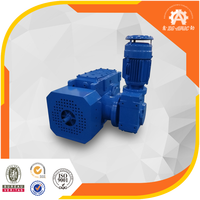China supplier B series gear reduction electric motor for concrete mixer