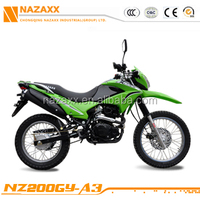 NZ200GY-A3 Excelente and Barato Off-road motorcycle