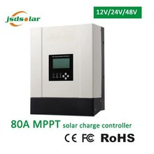 Charger controller application 12v 24v 48v 80 ampere mppt charge controller for sale