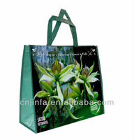 eco friendly pp woven shopping bag