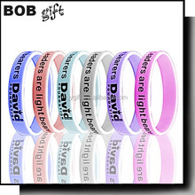 2015 Business Gift Use and Europe Regional Feature adjustable silicone wristbands