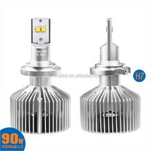 2015 New Product H7 headlamp bulb,Single Beam Head Light Kit,45W Car H7 LED Auto Headlamp