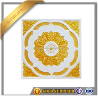 Ceiling tiles pvc gypsum ceiling board fire rated ceiling tile, perforated acoustic pvc gypsum board on sale