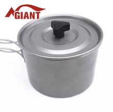 2015 hot sale Titanium Cookware set camping pot