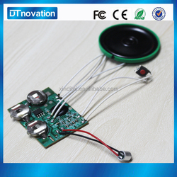 2015 hot selling alibaba long duration recordable sound module for plush toys