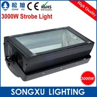 excellent 3000w disco led dmx strobe light for stage or dj party