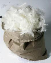 100% pluma de ganso para baixo para preencher edredon travesseiro