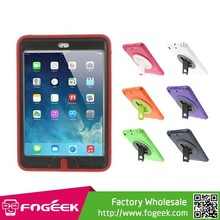 Scratches Resistant With Kickstand Detachable TPU & PC Hybrid Case for iPad Mini