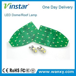 Vinstar2015 new LED Dome/Roof lamp Available Modle waterproof Dome/Roof lamp led