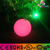 2015 Ball shaped High Quality Durable Plastic Led Glowing Ring for Light Show and Rave Party
