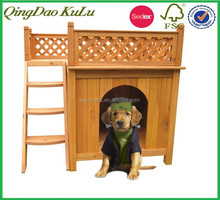 durable water proof wooden outdoor dog kennels with a view