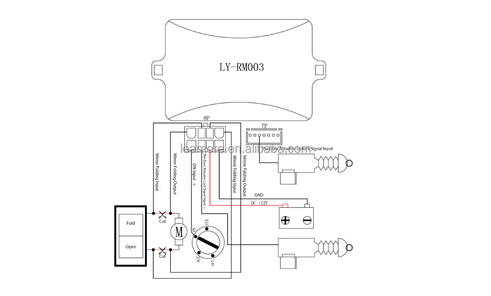 toyota rav4 side mirror wiring diagram
