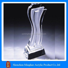Cheap acrylic crystal award medals for sale