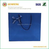 preprinted slogan customized paper bag,new paper bag made of kraft paper