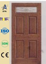 Zhejiang Afol fiberglass panel door and door skin manufacturers smooth or wood grain fiberglass door