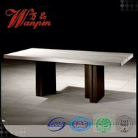 wholesale low price rubberwood dining table