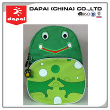 Quanzhou dapai 2015 Hot Selling The Frog Prince bag Zoo Pack Little Kid Backpack