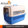 Plastic aluminium pet flight carrier pet products rabbit cage