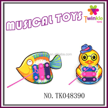 Twinkle toys kid EVA small musical instruments fish and duck xylophone