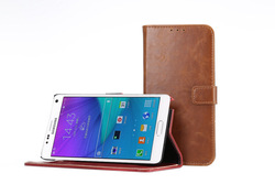 Animal Skin Phone Cover For Samsung Galaxy S5 PU Leather Case / For Samsung S5 Kickstand Phone Case New Arrival