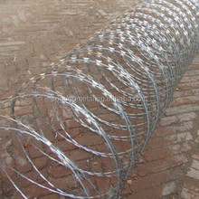 razor barbed wire with factory price