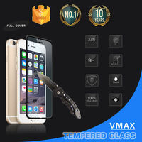 Unique cell phone accessory for apple iphone 6/6plus tempered glass screen protector