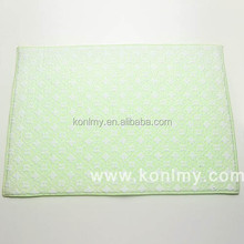 KLM-132 Multi-function 80% polyester 20% polyamide heat resistant table towel,hight quanlity place mat