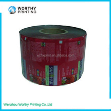 PE Material and Soft Hardness plastic film for skin packaging