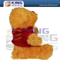 High Class Dressed Plush Teddy Bear with Music