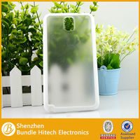 PC+TPU Transparen protective Case for Samsung Note 3
