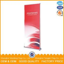 high quality free design artwork roll up banner, clip banner stand