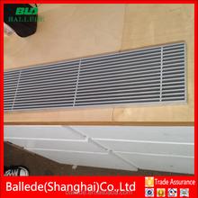 Aluminum air floor grille (HVAC)
