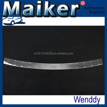 ABS Chrome rear bumper footplate For Jeep Compass MK 2011+ auto tuning accessoires from Maiker