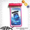 transparent tachable waterproof bag for smartphone
