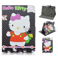 Flip Tablet Case For iPad Mini, Hello Kitty Case Leather Case For iPad Mini Wholesale Price