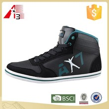 High-top fashion china custom man shoes style