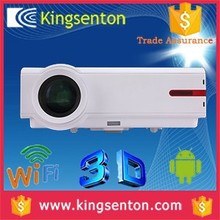 Cheap 3D 1080p hd android mini pocket wifi high brightness lcd projector